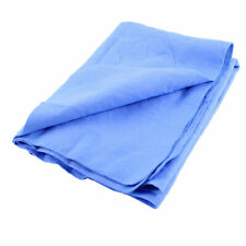 Multi Purpose Solid Blue Synthetic Chamois Clean Cham Towel