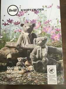 Steiff  New Club Collector Magazine  2020  NEW FABULOUS PHOTOS & ARTICLES