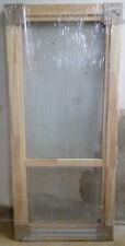 Holzbalkontür Balkontür Europrofil Kiefer,neu auf Lager 90x200 cm aus Bayern