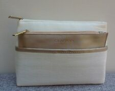 Set of 2 CLARINS Makeup Cosmetics Bag, Brand NEW!!