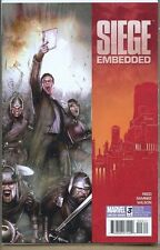 Siege Embedded 2010 series # 3 very fine comic book