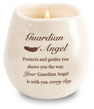 Guardian Angel  Candle in a Stoneware Jar Filled with Scented Soy Wax  Gift