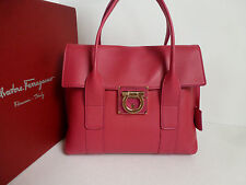 NWT Salvatore Ferragamo Sookie Satchel (Agata Rosa/Almond;  ITALY) US$1,590