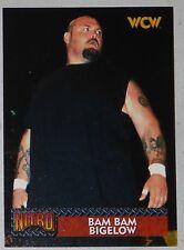 Bam Bam Bigelow WCW NWO 1999 Topps Nitro Card #9 WWE Wrestling Superstar Legend