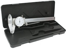 6 Dial Caliper Stainless Steel Shockproof Gauge 001 Of One Inch Free Ship Us