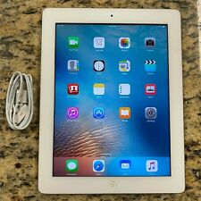 Good Condition Apple iPad 3rd Gen 64GB A1416 Wi-Fi White TABLET #33