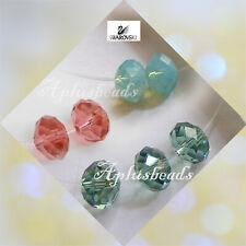 12PCS 6MM Swarovski Crystal Faceted Rondelle Beads #5040, pick colors