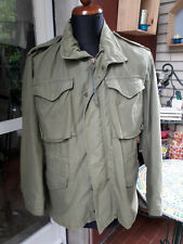 Vintage Military M-65 Field Jacket, Olive Green