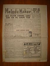 MELODY MAKER 1946 OCT 19 JACK HYLTON AMBROSE GERALDO