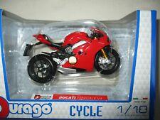 Burago Ducati 998 R 1/18 Moto - Assortie