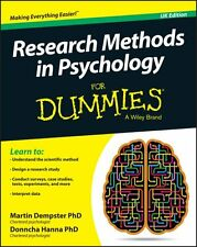 Research Methods in Psychology For Dummies by Martin Dempster 9781119035084