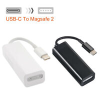 """Type-C to Magsafe 2 Connector Adapter Black/White for Macbook Pro 12"""" 13"""" 15"""""""