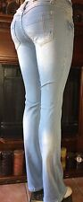 NWT~Rose Royce Bootcut Jeans(Sarina/Skylight color)Rubberband Stretch~SZ~28(7/8)