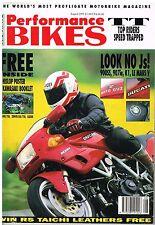 PB Aug 91 VMX1200 900SS 907ie K1 Le Mans V ZXR400 ZXR750 Zephyr 550 750 KLE500