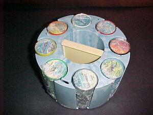 1962 JELLO PLANES & AUTOS 1-200 PLASTIC COIN SET