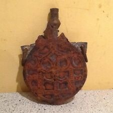 Ancient Middle Eastern Copper Gun Powder Flask