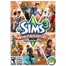 The Sims 3 World Adventures PC Games Windows 10 8 7 XP Computer expansion pack