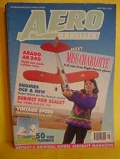 AEROMODELLER MAY 1992 CHARLOTTE BROUGH MISS PLANS ARADO AR 240 DPR MODELS JANINE
