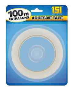 Clear Single Sided 100m Adhesive Tape Strong Clear Transparent Packaging Tape