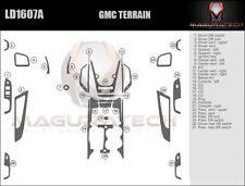 Fits GMC Terrain 2010-2017 Large Wood Dash Trim Kit