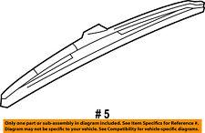 68057730AA Chrysler Blade rear wiper 68057730AA