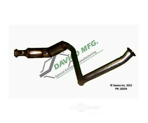 Catalytic Converter-Exact-Fit Right Davico Exc CA 18354