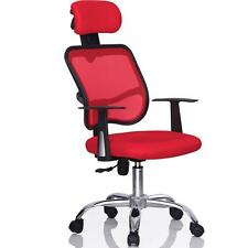 Red Ergonomic Executive Mesh Computer Office Desk Task Chair w/Strong Base NEW