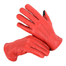 SKI FLEECE GLOVES Unisex Warm Thick Thermal Towel Stretch Coral Fingers Winter
