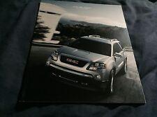 2009 GMC Acadia Full line Color Brochure Prospekt