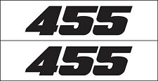 MG 2334 455 HP Engine Decal GM Graphic for Chevy, Buick, Oldsmobile, Pontiac