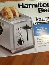 Hamilton Beach 2 Slice Extra-Wide Slot Toaster Chrome | Model# 22794