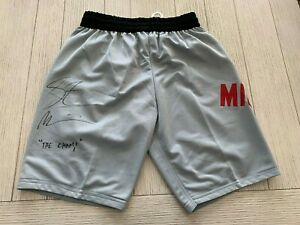 "Stipe Miocic autographed signed inscribed trunks UFC ""The Champ"" PSA COA"