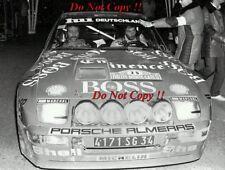 Jurgen Barth Porsche 924 Carrera GTS Monte Carlo Rally 1982 Photograph 1