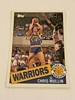 1993 Topps Archives Basketball #68 - Chris Mullin - Golden State Warriors
