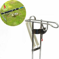 Adjustable Automatic Dual Spring Angle Pole Fish Pole Bracket Fishing Rod Holder