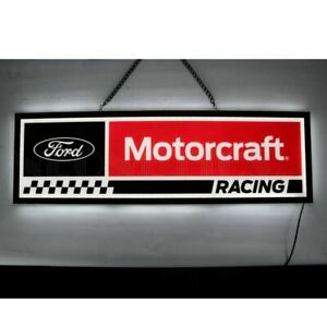 "Ford Motorcraft Racing 16"" Slim Line LED Sign * Mustang * F150 * Free USA Ship!"