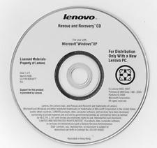 new ibm original recovery 8 cds Windows XP Professional thinkpad R51, T42, T42P
