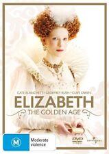 Elizabeth - The Golden Age (DVD, 2008) Region 4 🇦🇺 Brand New Sealed