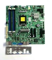 *NEW* Supermicro C7H61 Motherboard ATX Intel Socket H2 LGA 1155 FULL WARRANTY