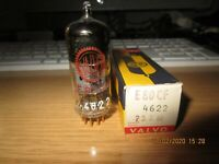 E80CF TUBE VALVO RED LOGO PINCHED WAIST RÖHRE VALVE NEW NOS GOLD PIN