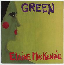Indie Pop USA : GREEN : Elaine MacKenzie (LP USA 1987)
