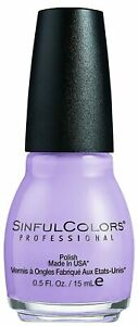 LOT OF 3! Sinful Colors Finger Nail Polish Colors