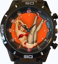 goupille fille Nouveauté tendance sport GT Style unisexe cadeau montre