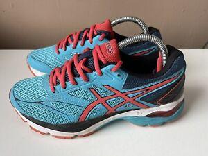 ASICS GEL PULSE 8 Ladies Blue Sport Running Trainers EU Size 39