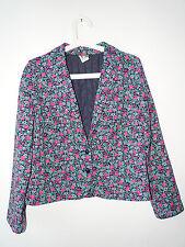 Blazer Blumen rosa|weiß|grün Größe 40 Frankenwälder Versand: 4,00€