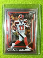 ODELL BECKHAM JR 2019 BROWNS CARD JERSEY #6 SP Panini National VIP Silver Chrome