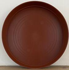 Terracotta Round Plastic Plant Pot Saucer Heavy Duty 35cm/350mm Quantity: x1