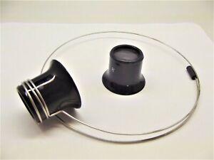 lente monocolo con supporto molla orologiaio orologi watch tools makers loupe