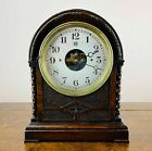 Antique French Bulle Electric Mantel Clock Electro Magnetic 400 Day Art Deco
