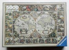 "5000 pieces Puzzle Ravensburger / "" Antico mappamondo "" 174157"